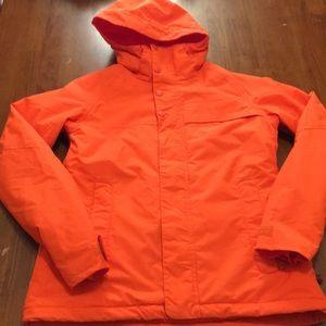 Orange Burton Method Jacket Medium Snowboarding